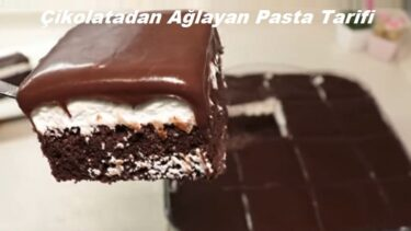 Çikolatadan Ağlayan Pasta Tarifi 1