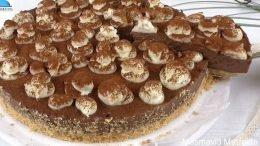 Pişmeyen Mantarlı Pasta Tarifi