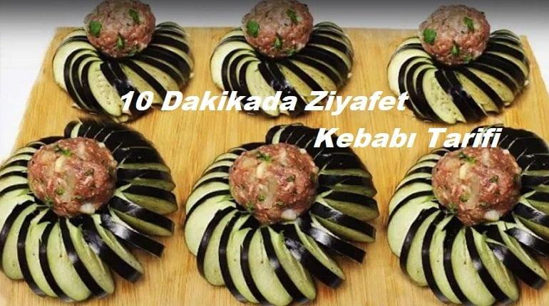 Kolay Patlıcanlı Ziyafet Kebabı Tarifi 1