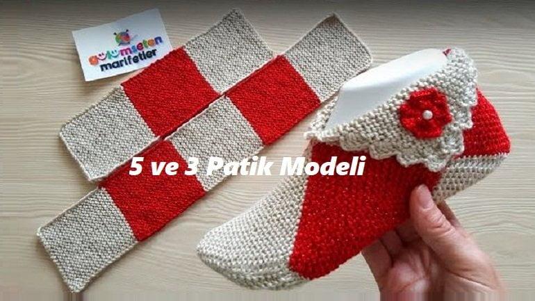 5 Ve 3 Patik Modeli 1
