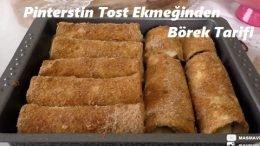 Pinterestin Tost Ekmeğinden Börek Tarifi