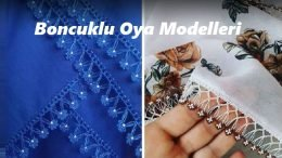 Boncuklu Oya Modelleri