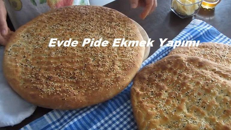 Evde Pide Ekmek Yapımı 1