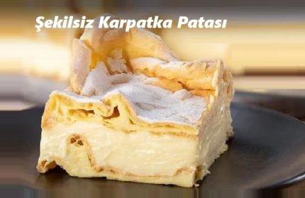 Şekilsiz Karpatka Pastası