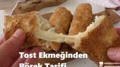 Tost Ekmeğinden Börek Tarifi