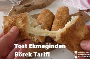 Tost Ekmeğinden Börek Tarifi 1
