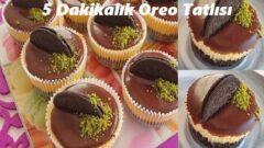 5 Dakikalık Oreo Tatlısı