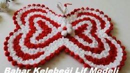 Yaz Kelebeği Lif Modelleri