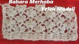 Bahara Merhaba Yelek Modeli