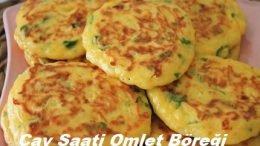 Çay Saati Omlet Böreği