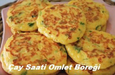 Çay Saati Omlet Böreği 1