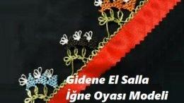 Gidene El Salla İğne Oyası Modeli