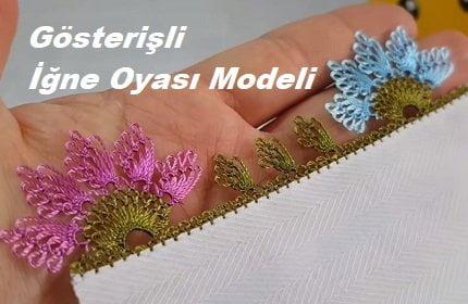 Gösterişli İğne Oyası Modeli 1