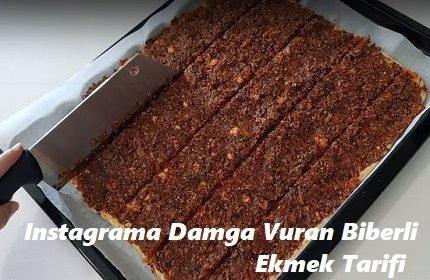 Instagrama Damga Vuran Biberli Ekmek Tarifi