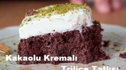 Kakaolu Kremalı Triliçe Tatlısı