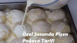Özel Sosunda Pişen Poğaça Tarifi