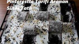 Pinterestte Tarifi Aranan Sütlü Tatlı