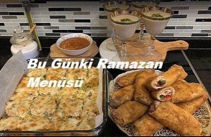 Bu Gün Ki Ramazan Menüsü 1