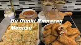 Bu Gün Ki Ramazan Menüsü