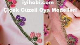Çiçek Güzeli Oya Modelleri