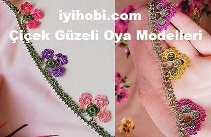 Çiçek Güzeli Oya Modelleri 1