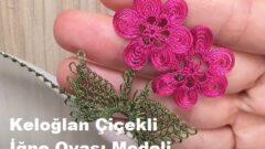 Keloğlan Çiçekli İğne Oyası Modeli