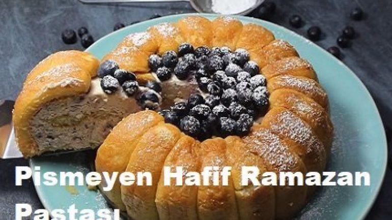 Pişmeyen Hafif Ramazan Pastası