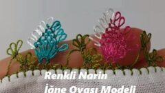 Renkli Narin İğne Oyası Modeli