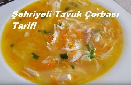 Şehriyeli Tavuk Çorbası Tarifi 1