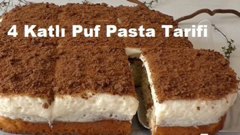 4 Katlı Puf Pasta Tarifi