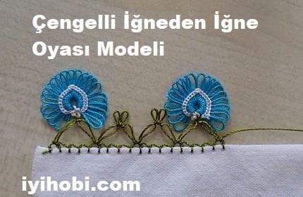Çengelli İğneden İğne Oyası Modeli 1