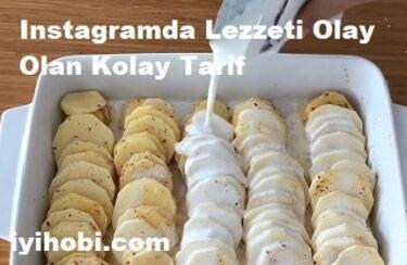 Instagramda Lezzeti Olay Olan Kolay Tarif 1