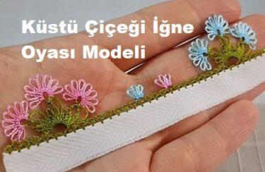 Küstü Çiçeği İğne Oyası Modeli 1