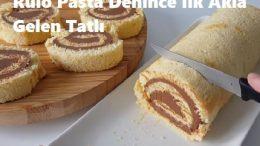 Rulo Pasta Denince İlk Akla Gelen Tatlı