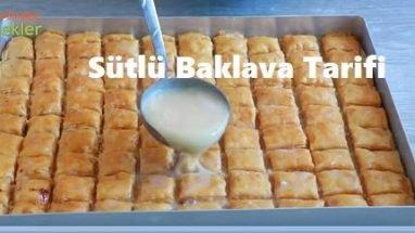 Sütlü Baklava Tarifi