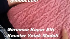 Görümce Kaçar Elti Kovalar Yelek Modeli