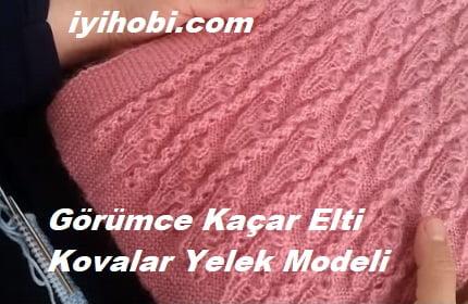 Görümce Kaçar Elti Kovalar Yelek Modeli 1