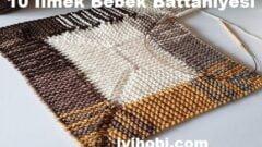 10 İlmek Bebek Battaniyesi