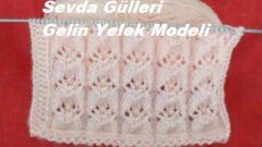 Sevda Gülleri Gelin Yelek Modeli
