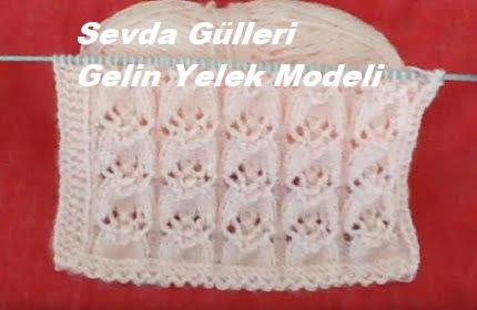 Sevda Gülleri Gelin Yelek Modeli 1