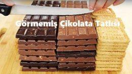 Görmemiş Çikolata Tatlısı