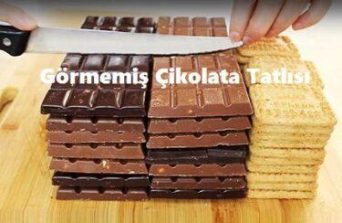 Görmemiş Çikolata Tatlısı Nasıl Yapılır?