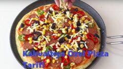 Kahvaltıya Özel Pizza Tarifi