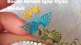 Böcek Anteni İğne Oyası Modeli