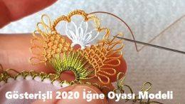 Gösterişli 2020 İğne Oyası Modeli
