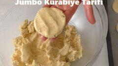 Jumbo Kurabiye Tarifi