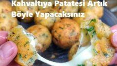 Kahvaltıya Patatesi Artık Böyle Yapacaksınız