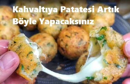 Kahvaltıya Patatesi Artık Böyle Yapacaksınız 1