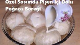 Özel Sosunda Pişen İçi Dolu Poğaça Böreği