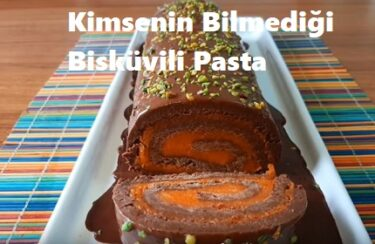 Kimsenin Bilmediği Bisküvili Pasta Tarifi 1